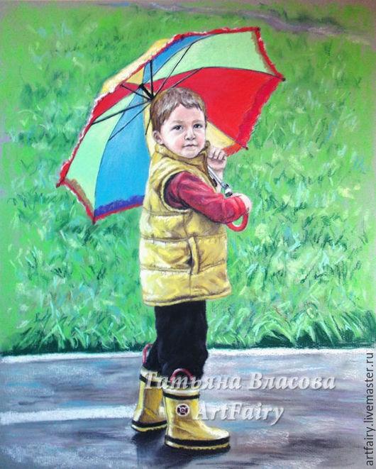 Детский портрет пастелью. Детский портрет. Купить портрет мальчика. Портрет мальчика. Портрет ребенка по фото. Заказ портрета. Заказать портрет.