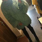 Одежда ручной работы. Ярмарка Мастеров - ручная работа Шубка из ламы в росшив. Handmade.