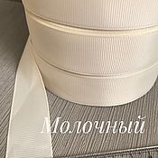 Ленты ручной работы. Ярмарка Мастеров - ручная работа Репсовая лента 25 мм. Handmade.