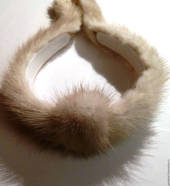 Ободок из меха своими руками фото 434