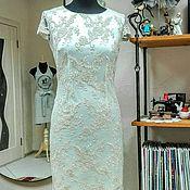 """Одежда ручной работы. Ярмарка Мастеров - ручная работа Платье вечернее """"Fleur mimosas"""". Handmade."""