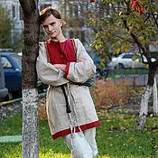Одежда ручной работы. Ярмарка Мастеров - ручная работа Рубаха с подоплекой. Handmade.