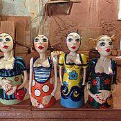 Куклы и игрушки ручной работы. Ярмарка Мастеров - ручная работа Скульптура керамическая. Handmade.