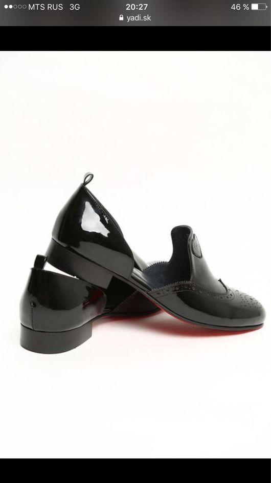 Обувь ручной работы. Ярмарка Мастеров - ручная работа. Купить Лаковые лоферы. Handmade. Обувь ручной работы, лоферы, босоножки