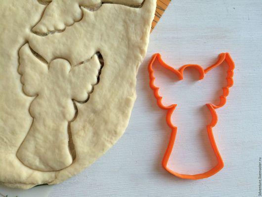 Кухня ручной работы. Ярмарка Мастеров - ручная работа. Купить Форма для печенья Ангел. Handmade. Разноцветный, формочка для печенья