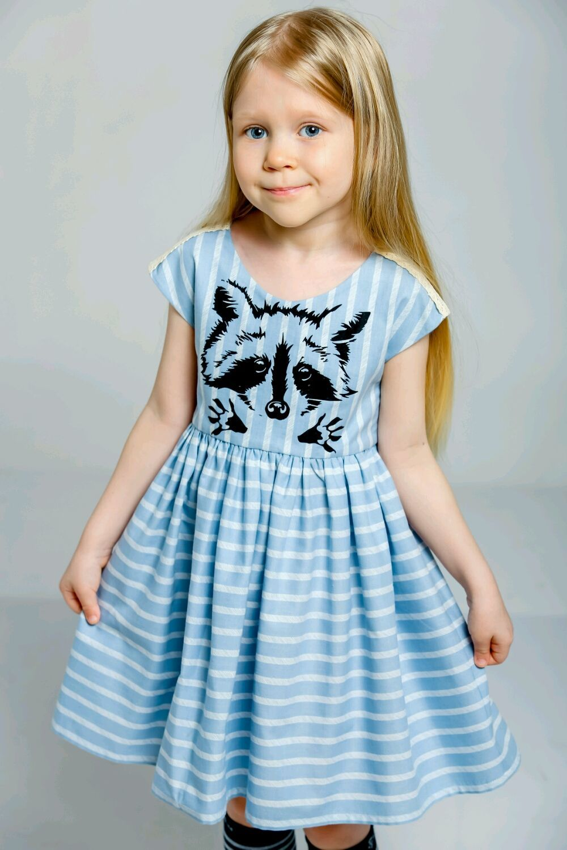 Платье из хлопка Dailylike, рост 104