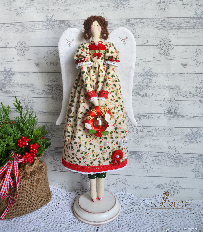 Ангел Рождества, Куклы Тильда, Белгород,  Фото №1