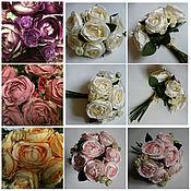 Букет винтажных роз.