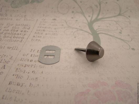 Другие виды рукоделия ручной работы. Ярмарка Мастеров - ручная работа. Купить Ножки для сумки К 3130 Д блэк никель. Handmade.