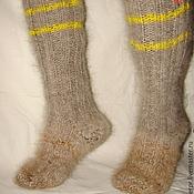 Аксессуары handmade. Livemaster - original item Socks-knee-down thick art No. 54 of dog hair .. Handmade.
