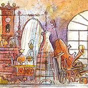 """Картины и панно ручной работы. Ярмарка Мастеров - ручная работа """"Чердачок"""". Handmade."""
