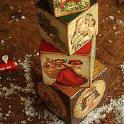 """Подарки к праздникам ручной работы. Ярмарка Мастеров - ручная работа Пирамидка """"Старый Новый год"""".. Handmade."""