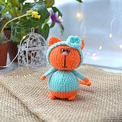 Куклы и игрушки handmade. Livemaster - original item cat Tangerine. Handmade.