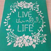 Материалы для творчества handmade. Livemaster - original item Copy of Copy of Copy of Copy of f stencils adhesive. Handmade.