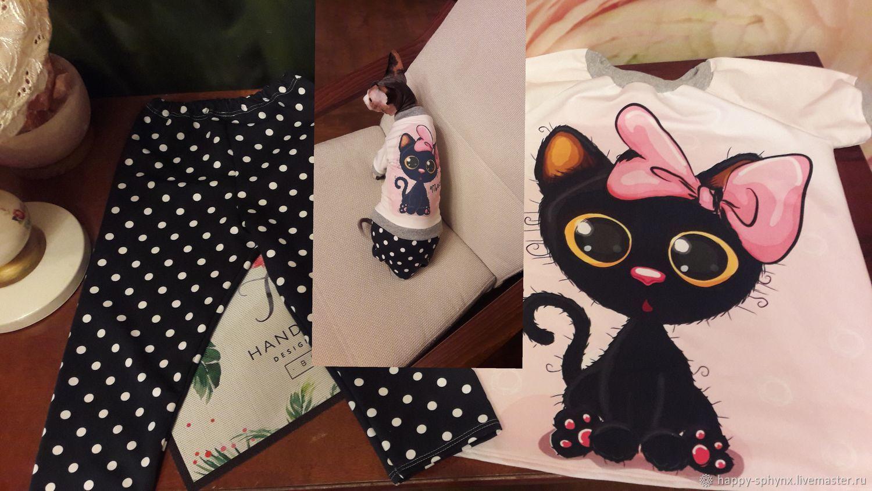 """Одежда для кошек ребенок+котенок """"Котенок с бантом"""", Одежда для кошек, Бийск, Фото №1"""