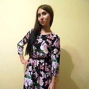 Одежда ручной работы. Ярмарка Мастеров - ручная работа Платье длинное.. Handmade.
