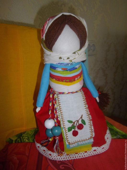 Народные куклы ручной работы. Ярмарка Мастеров - ручная работа. Купить Кукла На удачное замужество. Handmade. Голубой
