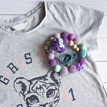 Одежда ручной работы. Ярмарка Мастеров - ручная работа Слингобусы фиолетовые можжевеловые. Handmade.