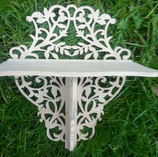 Мебель ручной работы. Ярмарка Мастеров - ручная работа. Купить Полка V 17. Handmade. Комбинированный, полка из дуба
