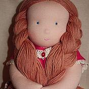 Куклы и игрушки ручной работы. Ярмарка Мастеров - ручная работа Девочка яркая 40 см. Handmade.