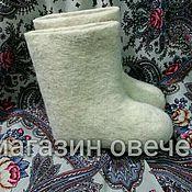Обувь ручной работы. Ярмарка Мастеров - ручная работа Детские валенки ручной работы. Handmade.