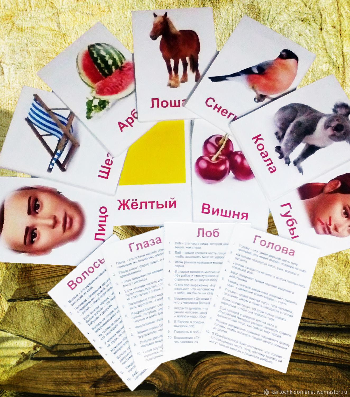 Развивающие Карточки Домана 200 шт, Кукольная еда, Новочеркасск,  Фото №1