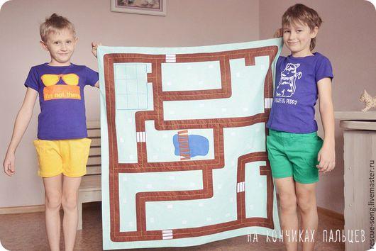 Развивающие игрушки ручной работы. Ярмарка Мастеров - ручная работа. Купить Игровой коврик с рюкзачком. Handmade. Комбинированный