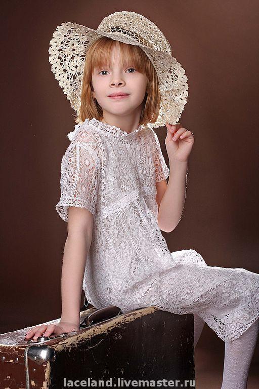 Шляпы ручной работы. Ярмарка Мастеров - ручная работа. Купить Шляпа с бантом. Handmade. Шляпа, ручное кружево, елецкое кружево