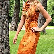 Одежда ручной работы. Ярмарка Мастеров - ручная работа Платье Терра. Handmade.