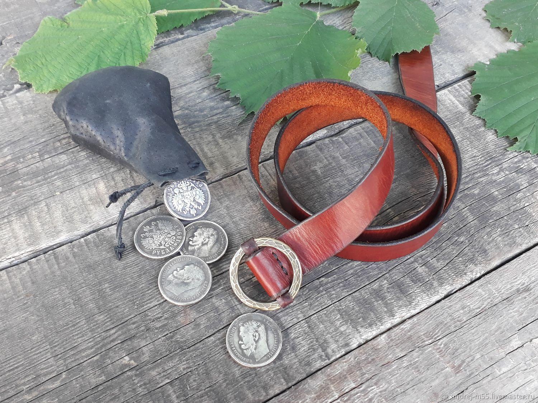 Ремень кожаный, Ремни, Славянск-на-Кубани,  Фото №1