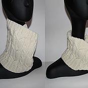 Аксессуары handmade. Livemaster - original item Knitted Snood with braids
