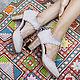 Обувь ручной работы. Ярмарка Мастеров - ручная работа. Купить Dance Queen. Невесомые, модные винтажные туфли. Handmade. Бежевый