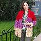 Верхняя одежда ручной работы. Кардиган или вязаное пальто .. Розалинка (SalLia). Интернет-магазин Ярмарка Мастеров. Пальто вязаное