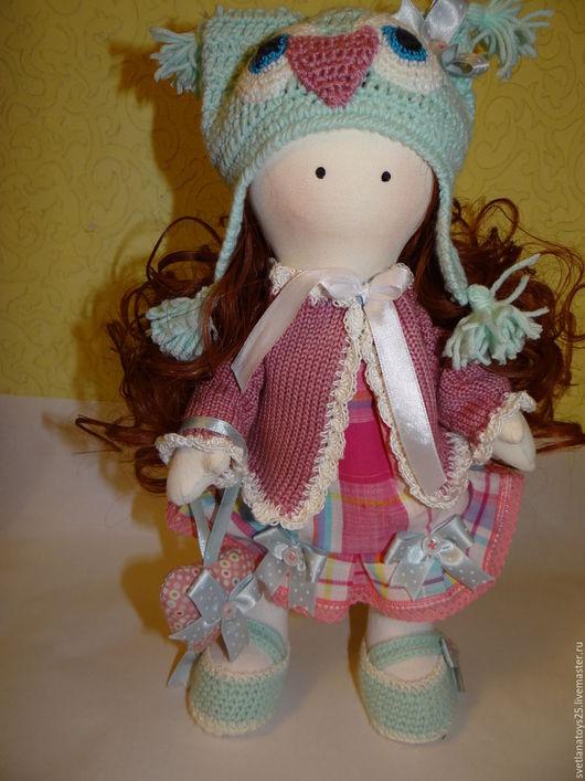 Куклы тыквоголовки ручной работы. Ярмарка Мастеров - ручная работа. Купить Кукла тыквоголовка. Кукла Лизонька. Handmade. Комбинированный