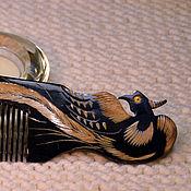 """Сувениры и подарки ручной работы. Ярмарка Мастеров - ручная работа NEW Расческа """"Феникс"""" из рога яка. Handmade."""