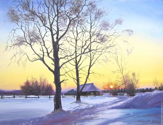 картина, русский пейзаж,русская зима,картина маслом, масло, живопись маслом, купить картину маслом, выбор картин, где купить картину, картина в подарок, картина для интерьера, картина пейзаж,зимний,