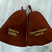 Дача и сад handmade. Livemaster - original item Bath accessories: NEW Bath cap (embroidery). Handmade.