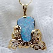 Украшения handmade. Livemaster - original item Opal pendant