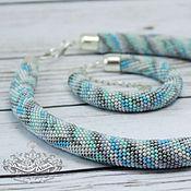 Украшения handmade. Livemaster - original item A beaded necklace Cheshire. Handmade.
