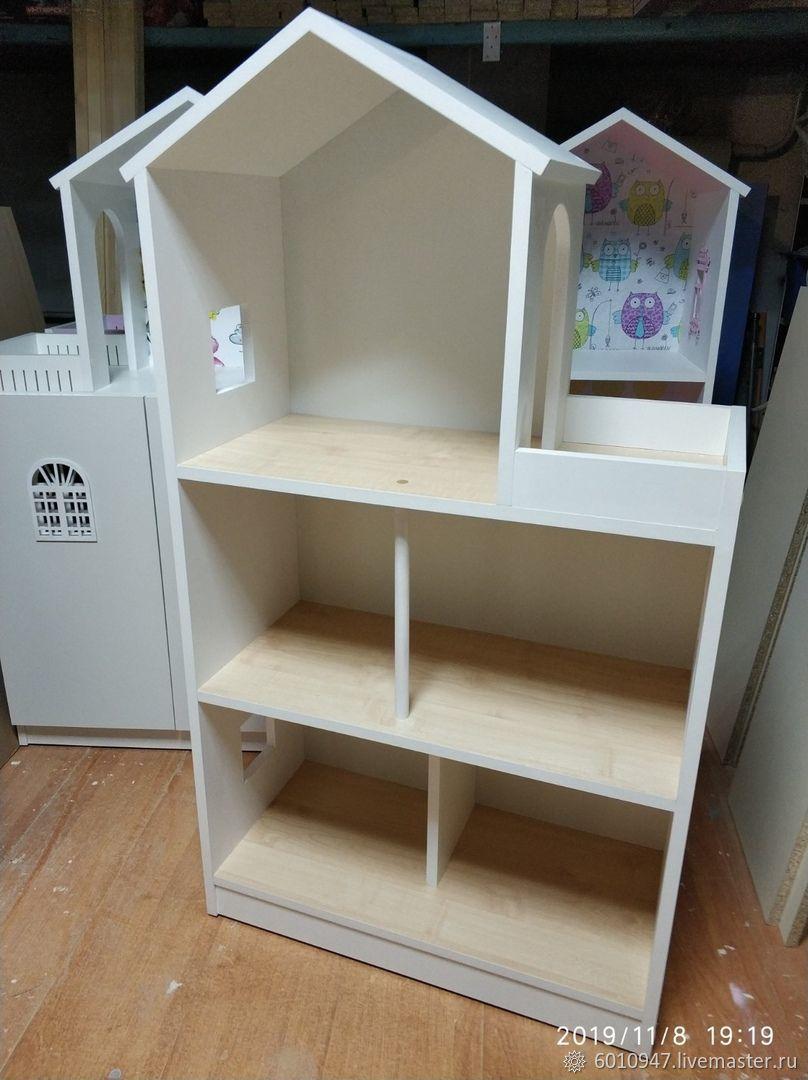 Кукольный домик - стеллаж, Кукольные домики, Колпино,  Фото №1