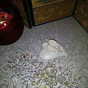 """Свадебный салон ручной работы. Ярмарка Мастеров - ручная работа Веточка в причёску """"Жемчужный сад"""". Handmade."""