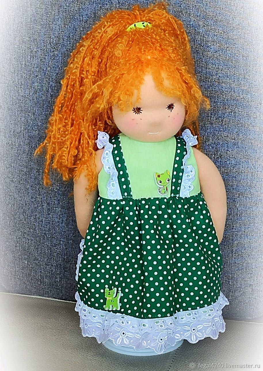 Вальдорфская кукла Майя , текстильная кукла, Вальдорфские куклы и звери, Балахна,  Фото №1