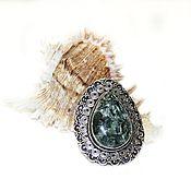 Материалы для творчества handmade. Livemaster - original item Silver pendant with Serafina. Handmade.