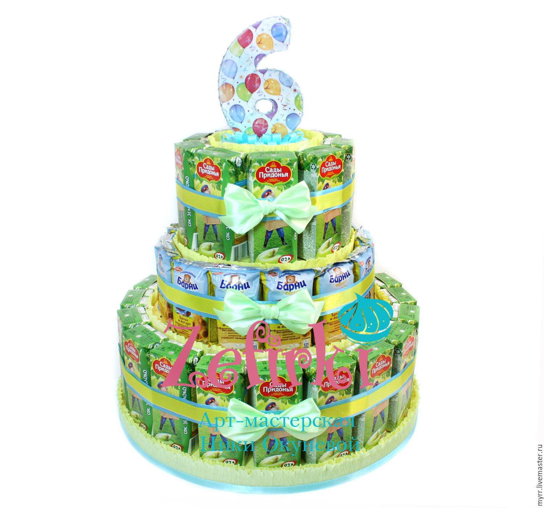 Тортики в садик своими руками мастер класс