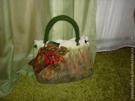 """Женские сумки ручной работы. Ярмарка Мастеров - ручная работа. Купить Сумка """" Что такое осень, это..."""". Handmade."""