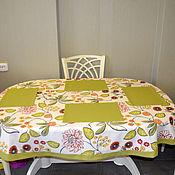 Для дома и интерьера ручной работы. Ярмарка Мастеров - ручная работа Скатерть и салфетки. Handmade.