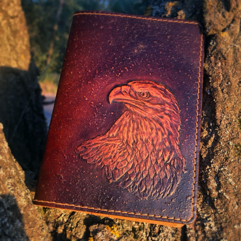 """Обложка на паспорт """"Мудрый орёл"""" для настоящего индейца, Обложки, Тольятти,  Фото №1"""
