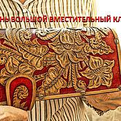"""Клатчи ручной работы. Ярмарка Мастеров - ручная работа Клатч из кожи """"Большой"""" красный. Handmade."""