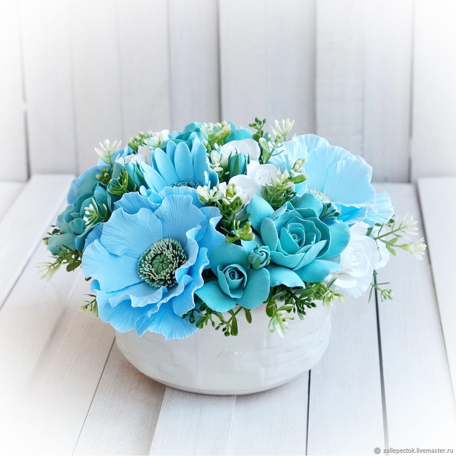 Роза, цветы на заказ краснодар бирюза