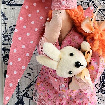 Куклы и игрушки ручной работы. Ярмарка Мастеров - ручная работа Кукла тильда сонный ангел (сплюшка) Рыжик. Handmade.